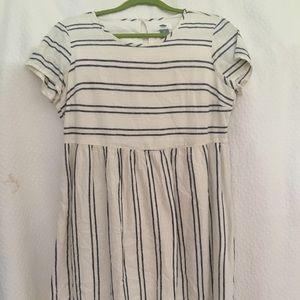 Old Navy Striped Babydoll Dress